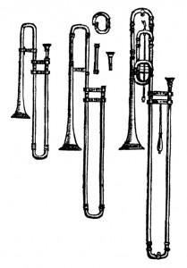 Praetorius- Syntagma Musicum (1619) - Posaunen