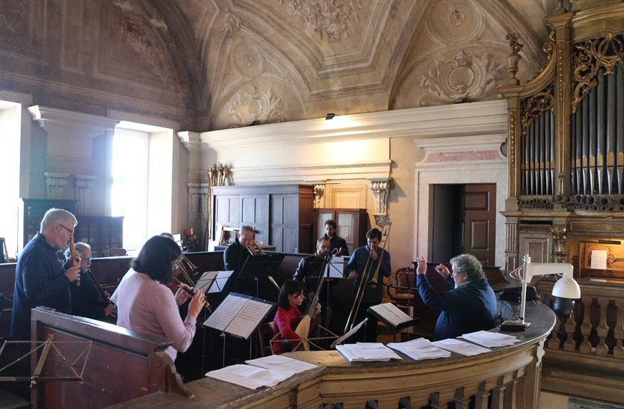 2 Masterclass de Sacabuxa e Música Antiga de Lisboa - Dir. Wim Becu 4-2016