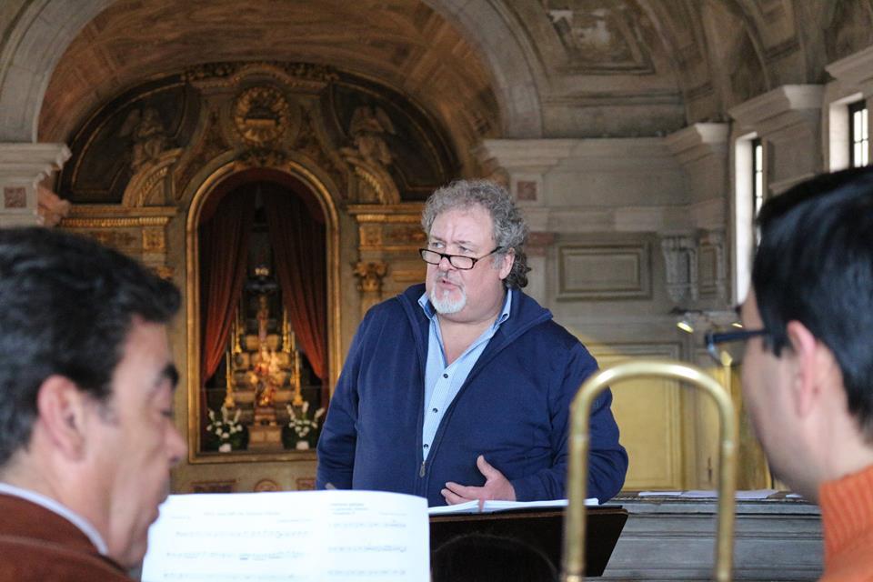 3 Masterclass de Sacabuxa e Música Antiga de Lisboa - Dir. Wim Becu 4-2016