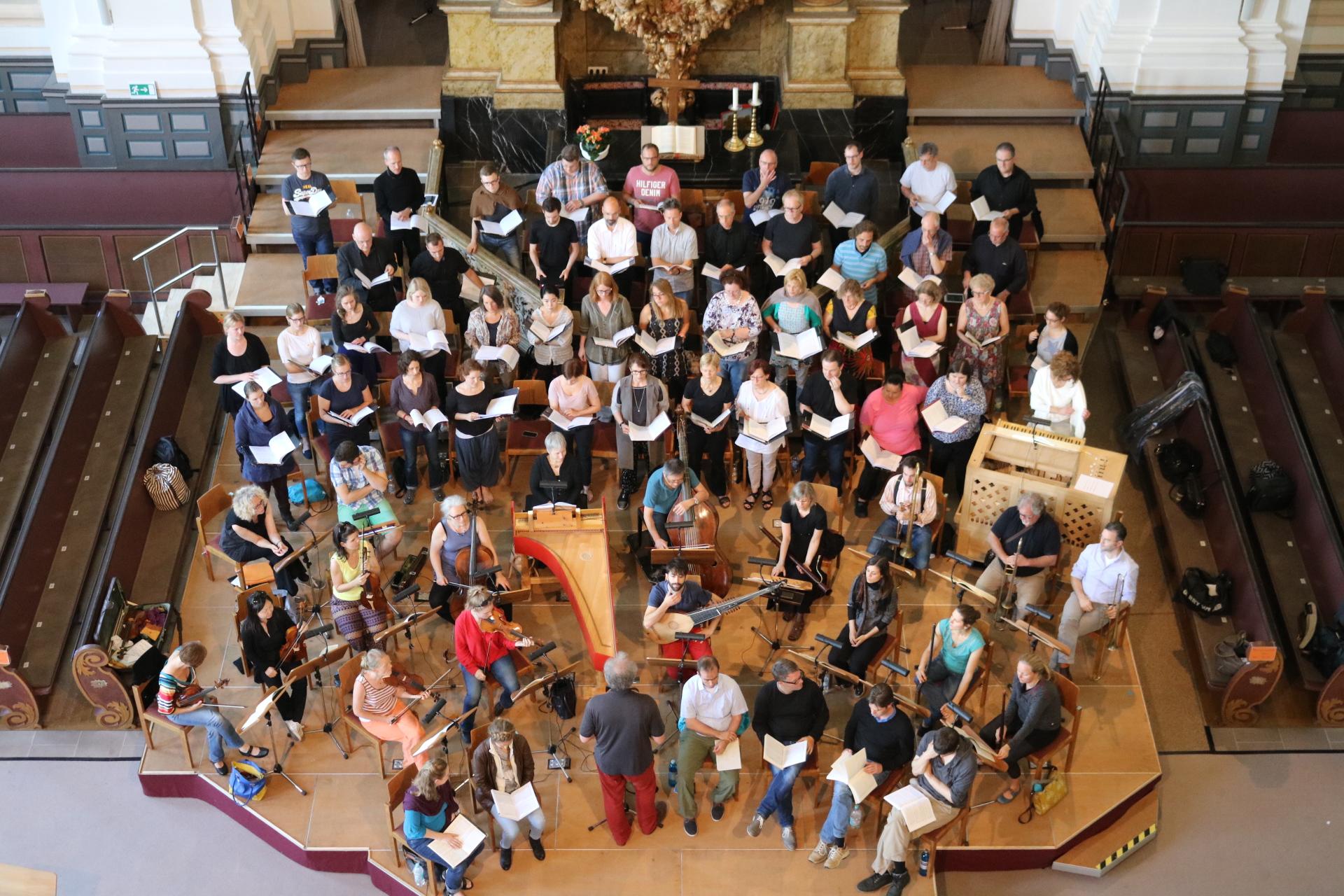 Monteverdi Marienvesper (Weilburger Schlosskonzerte) 5.6.2016 Probe