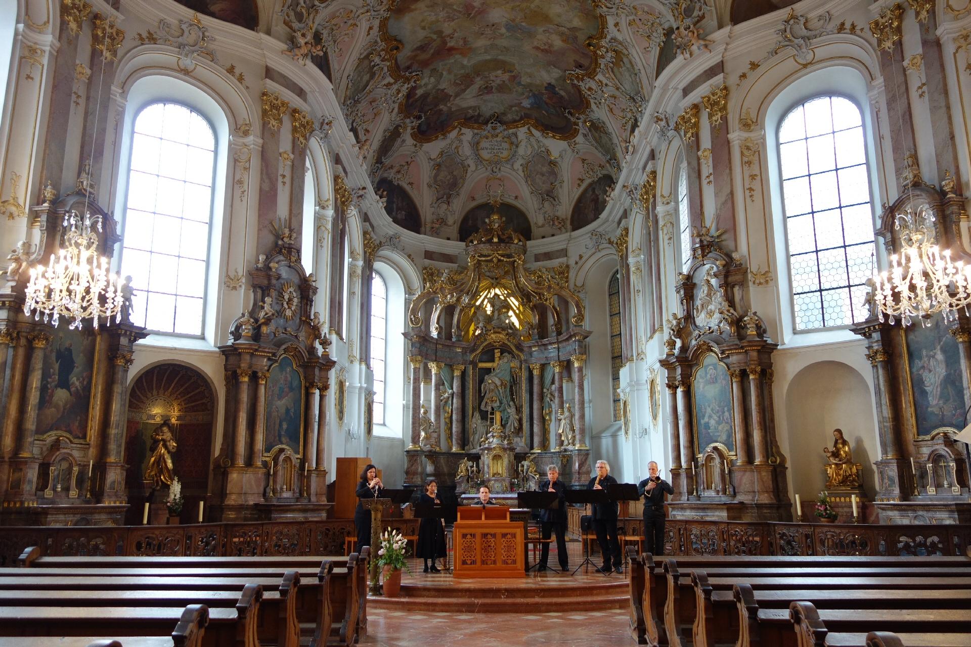 Blockflöten & Barockposaune 1.10.2016 Augustinerkirche Mainz (ASP) - 1