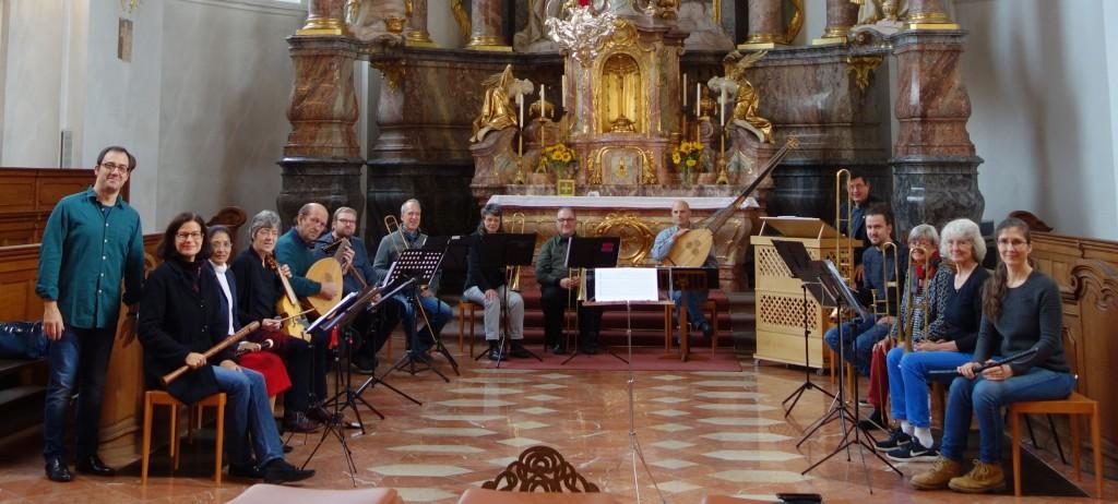 Kurs für Alte Musik in Mainz mit Ercole Nisini (17.9.2017) 1